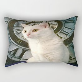 The mysterious kitty Tyche Rectangular Pillow