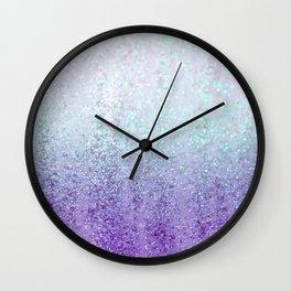 Summer Rain Dreams Wall Clock