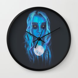 Eyes Full of Stars Wall Clock