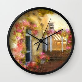 Beallair In Bloom Wall Clock
