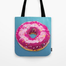 Lowpoly Donut Tote Bag