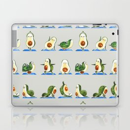 Avocado Yoga Watercolor Laptop & iPad Skin