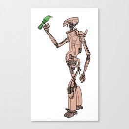 Culprit Tech Robot #3 Canvas Print