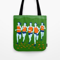 Stars of Track and Field are Beautiful People Tote Bag