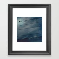 to be alone Framed Art Print