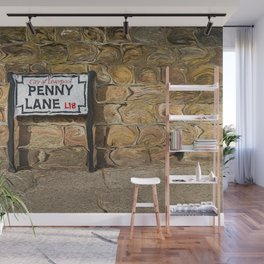 Penny Lane Street Sign Wall Mural
