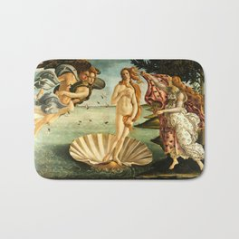 Sandro Botticelli The Birth Of Venus Bath Mat