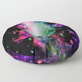 Orion Nebula Black Pyschedelic Floor Pillow