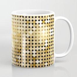 gold sparkles Coffee Mug