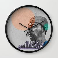 hiphop Wall Clocks featuring Madlib - urban by ARTito