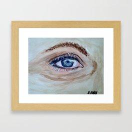 eye And I Framed Art Print