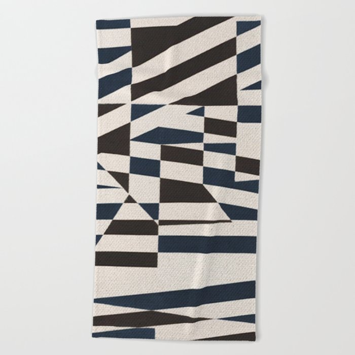 Shards Beach Towel