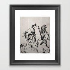 Imagination (sketch) Framed Art Print