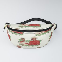 Phil & Judy (White Christmas) Fanny Pack