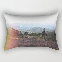 Dreamy Mountain Views Rectangular Pillow
