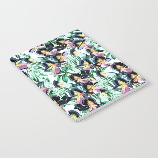 Floral Flutter #society6 #decor #buyart Notebook