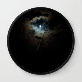 midnight pearl Wall Clock