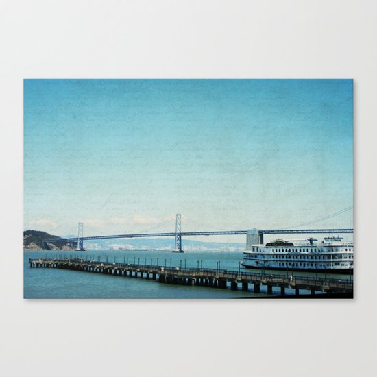 Letters From San Francisco Canvas Print
