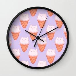 Cat Food - Ice Cream Wall Clock