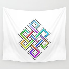 Buddhist Knot Wall Tapestry