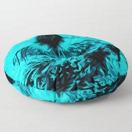 Sea Otter, mint green Floor Pillow