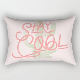 Stay Cool Cactus Rectangular Pillow