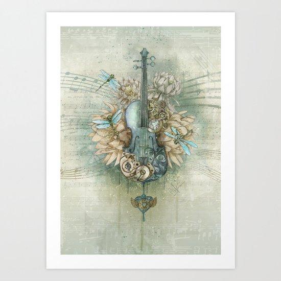Analog Sound Art Print
