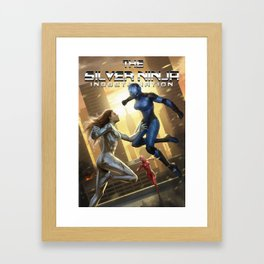 The Silver Ninja: Indoctrination Framed Art Print