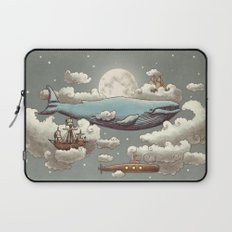 Ocean Meets Sky (original) Laptop Sleeve