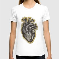 anatomical heart T-shirts featuring Anatomical Heart by Micaela Payne