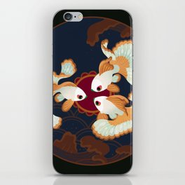 Three tosakin goldfish iPhone Skin