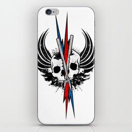 DRUM OR DIE iPhone Skin
