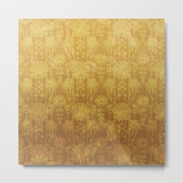 Victorian Potpourri - Faded Splendor Rich Satin - TOPAZ Metal Print