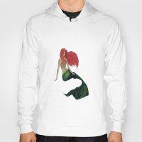 mermaid Hoodies featuring mermaid by ArtSchool