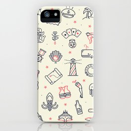 Ahoy! Icons iPhone Case