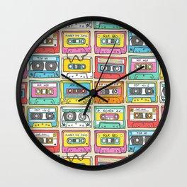 Nostalgia Audio Music Mix Cassette Tape Wall Clock