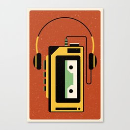 Walkman Canvas Print