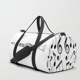 The White Clarinet Duffle Bag