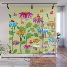 colorful meadow Wall Mural