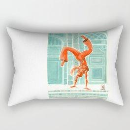 Capoeira 28 Rectangular Pillow