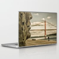 bridge Laptop & iPad Skins featuring Bridge by Sébastien BOUVIER