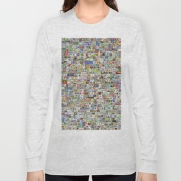 Soccer Stamps Long Sleeve T-shirt