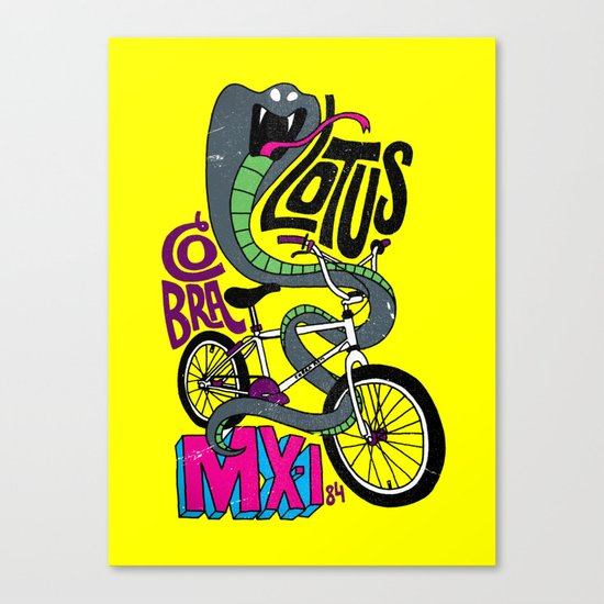 Lotus BMX Canvas Print