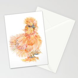 Silkie Chicken - Sweet Potato Stationery Cards