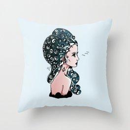 Maiden of the Deep Throw Pillow