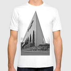 Temple of credit White MEDIUM Mens Fitted Tee