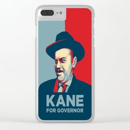 CITIZEN KANE - Kane for Governor Clear iPhone Case