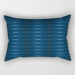 Barque Bleue Rectangular Pillow