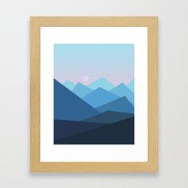 Landscape NC 01 Framed Art Print