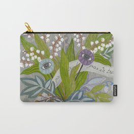 Mystical Flowers Carry-All Pouch